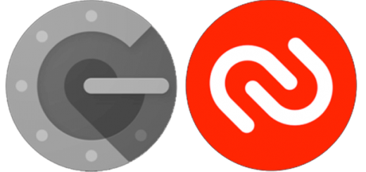 Google OTP and Authy